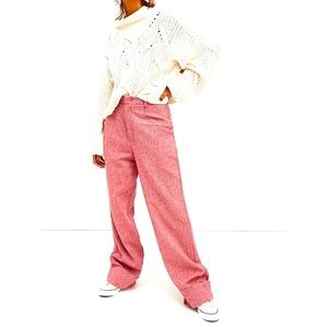 NWT Free People Selina Tweed Trouser